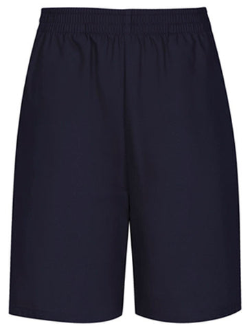 Pull-On Shorts: Navy