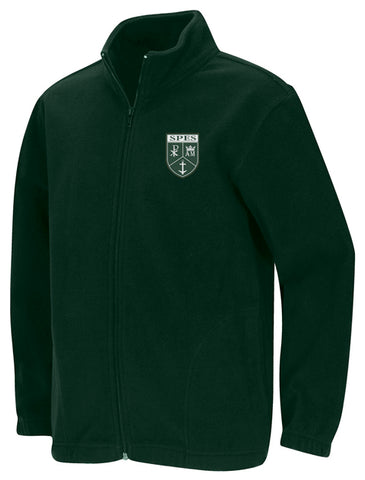 Fleece Jacket: St. Pius Hunter