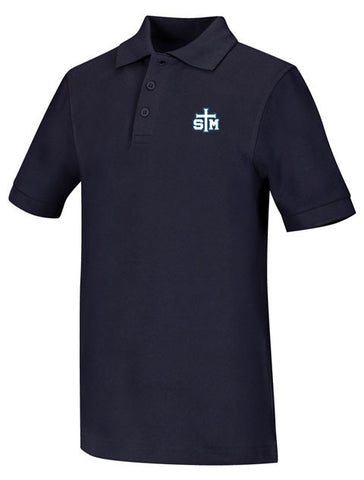 Jersey Polo: STM Navy