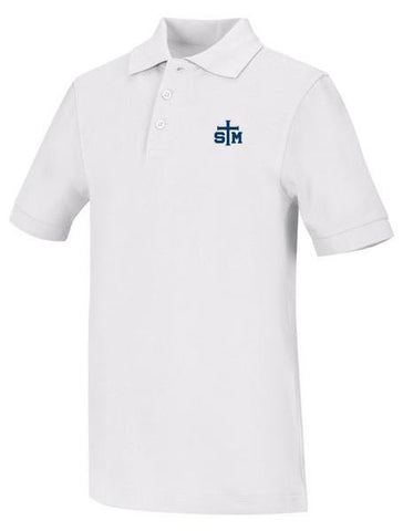 Jersey Polo: STM White