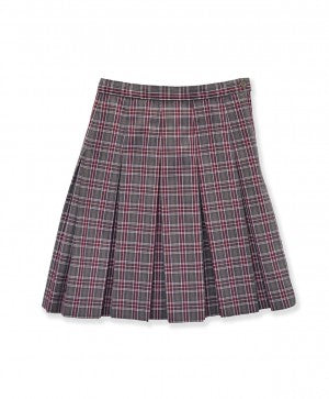 Pleated Skirt: Plaid 6T
