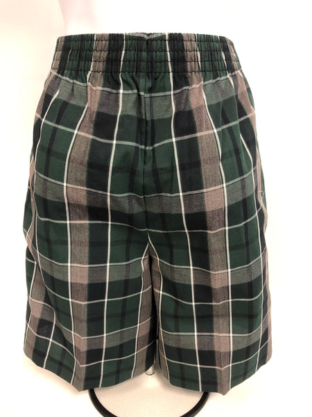 Pleated Shorts Plaid 75