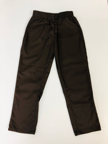 Pull-On Pants Brown
