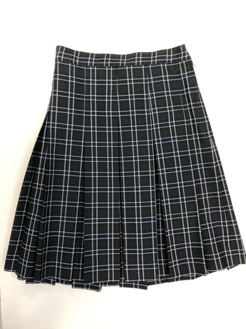 Pleated Skirt Plaid 475