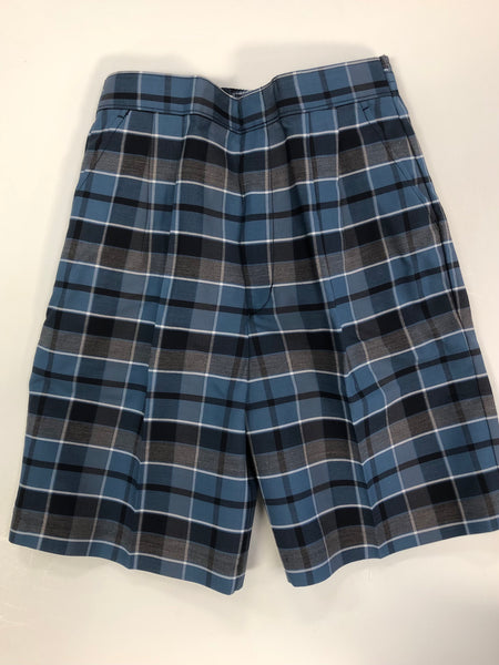 Pleated Shorts Plaid 59