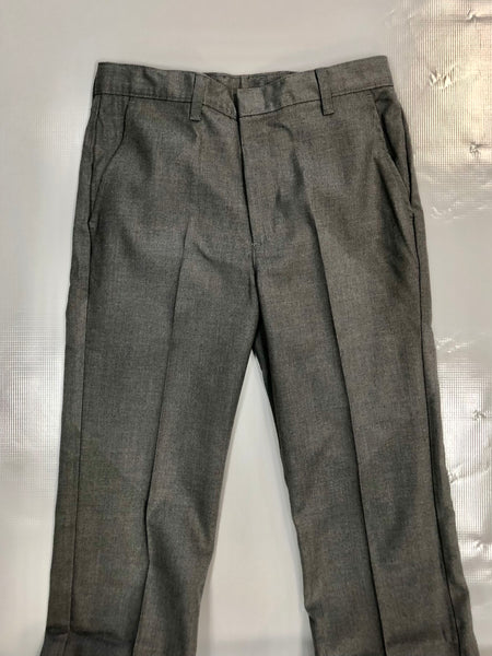 TriBlend Flat Front Slacks Grey