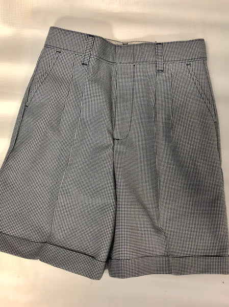 Girls Pleated Shorts Plaid 03N