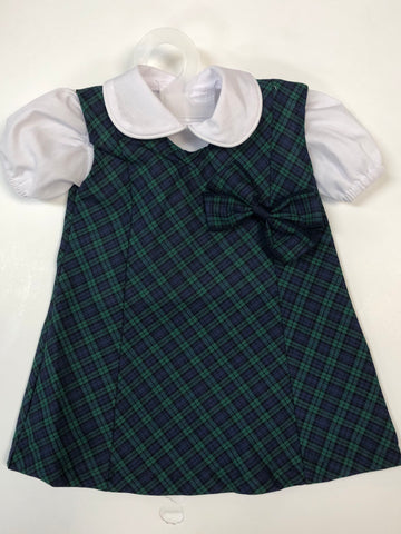 Doll Dress Set Micro Tartan