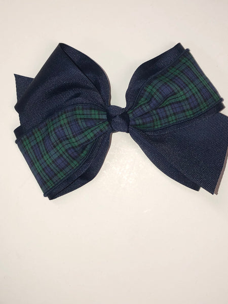 Hair Accessories Micro Tartan