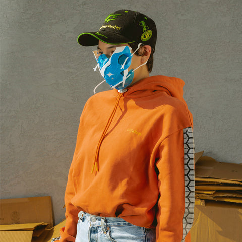 Emergency Hoodie orange