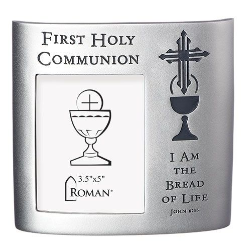 First Holy Communion/Bread of Life Silver Tone Frame