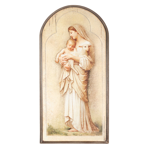 Innocence Arched Plaque 15""