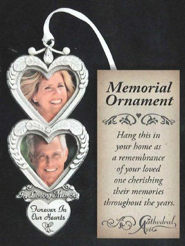 Pewter Memorial Ornament