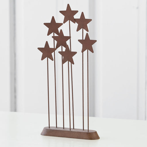 "Metal Star Backdrop  13.5"" Willow Tree"