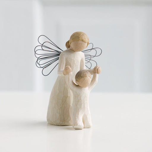Guardian Angel Willow Tree Statue