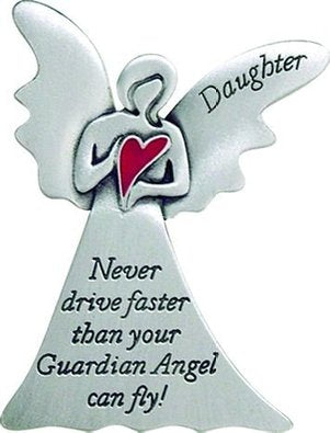 Daughter Angel Visor Clip