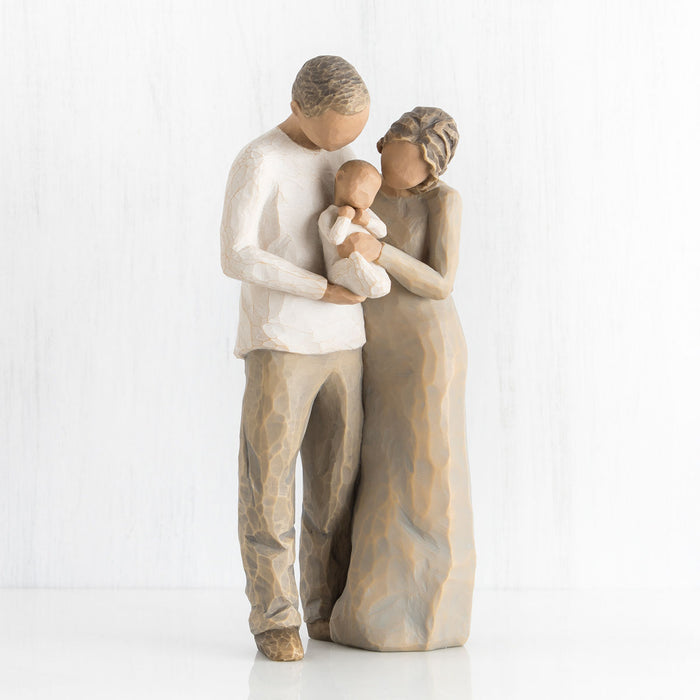 We Are Three Willow Tree Figurine