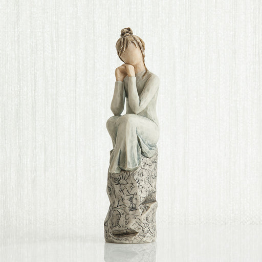 Patience Figurine 5""