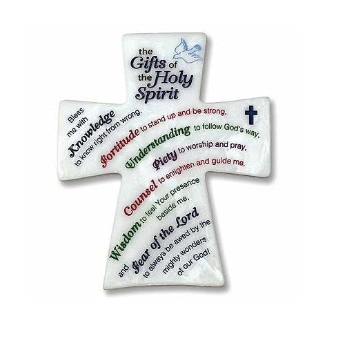 Gifts of Holy Spirit Plaque