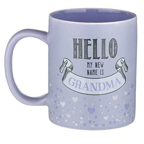 Hello My New Name is Grandma Mug