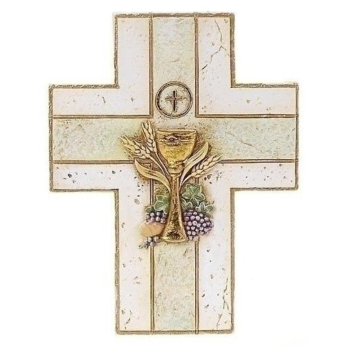 My First Communion Cross w/ Chalice