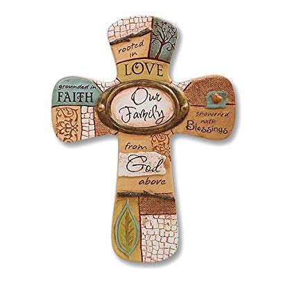 Our Family Resin Cross