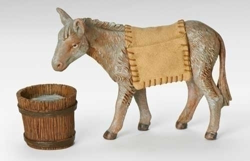 "Mary's Donkey 2-pc set.  7.5"" Fontanini"