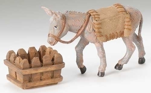 "Mary's Donkey 2-pc set.  5"" Fontanini"