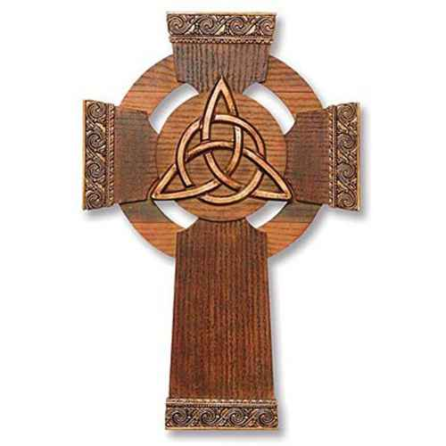 Trinity Knot Wall Cross
