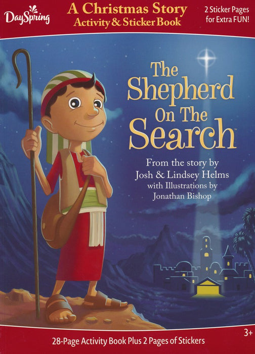 The Shepherd on the Search Activity & Sticker book