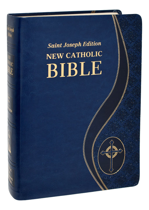 Blue St. Joseph New Catholic Bible - Giant Print
