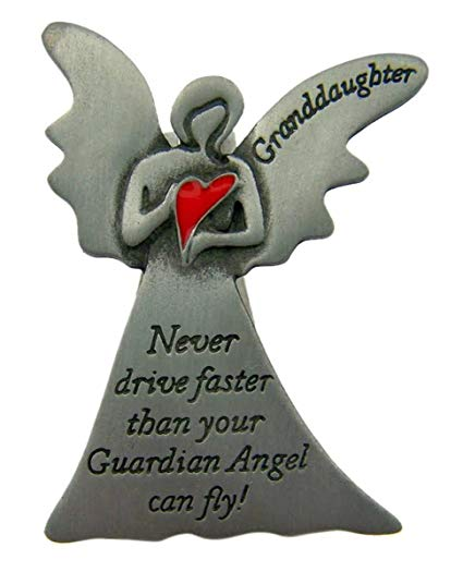 Granddaughter Angel Visor Clip