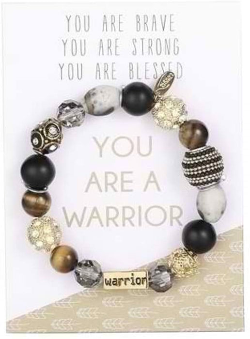 You are a Warrior Stretch Bracelet