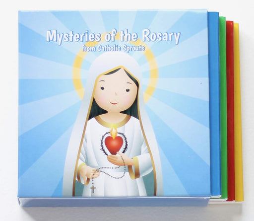 Mysteries of the Rosary Board Book Boxed Set