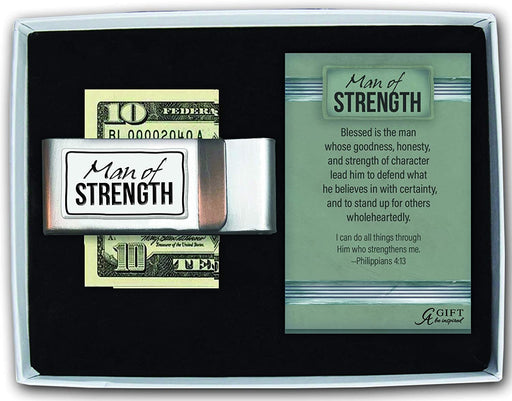 Man of Strength Money Clip
