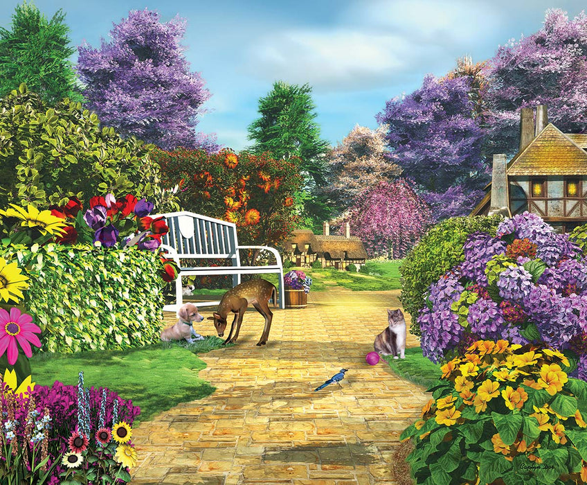 Peaceful Moment 1000 Piece Jigsaw Puzzle