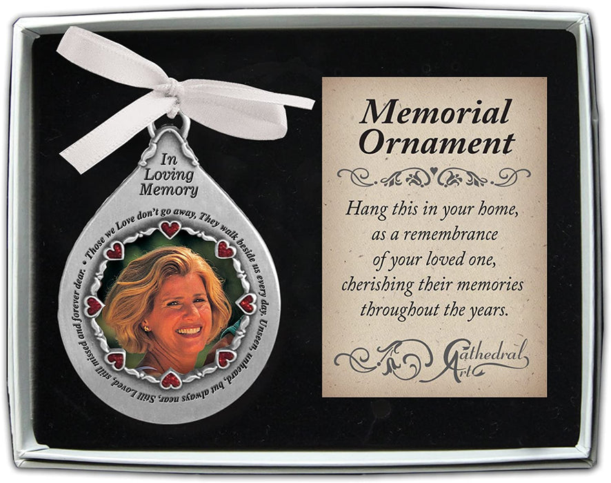 In Loving Memory Memorial Ornament (Woman)