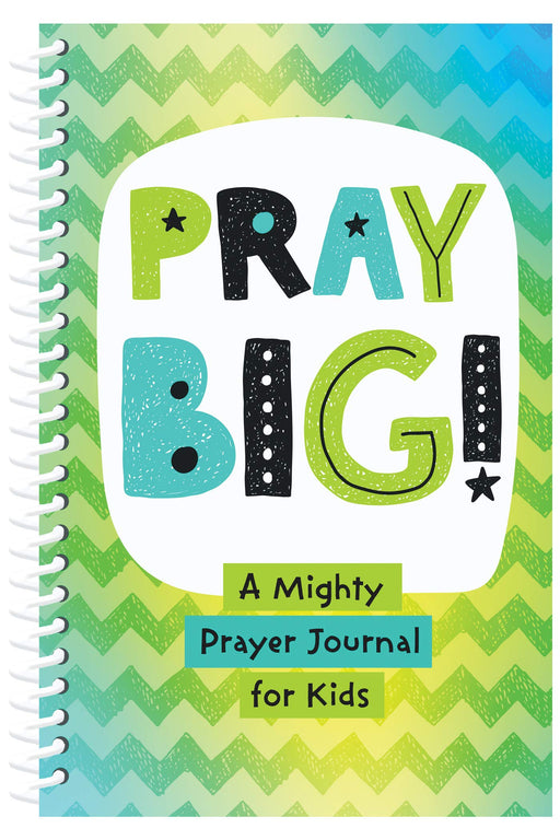 PRAY BIG! A Mighty Prayer Journal for Kids