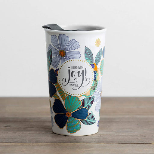 Filled With Joy Ceramic Tumbler