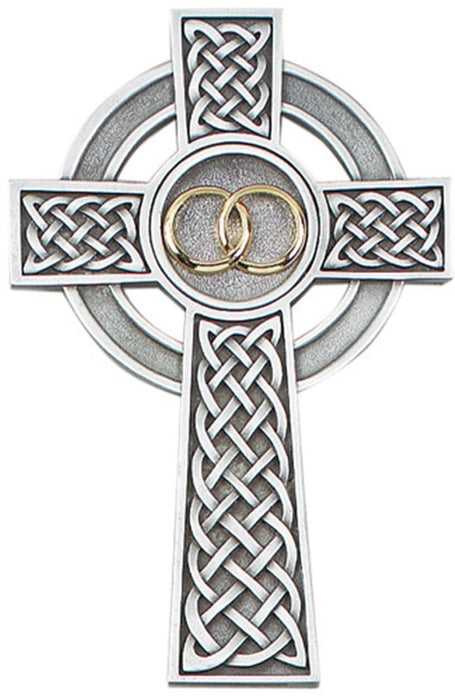 Celtic Wedding Cross 8""