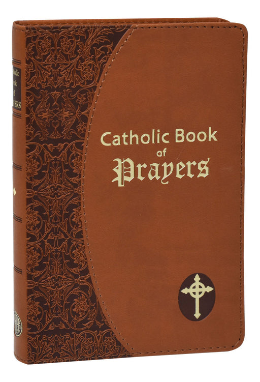 Catholic Book of Prayers - Brown Dura Lux Cover