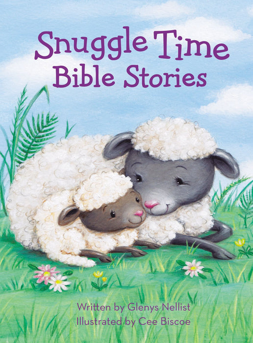Snuggle Time Bible Stories Board Book by Glenys Nellist