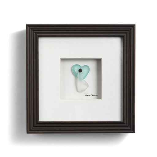In My Heart Pebble Art by Sharon Nowlan