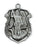 Deluxe Pewter St. Michael Badge Medal