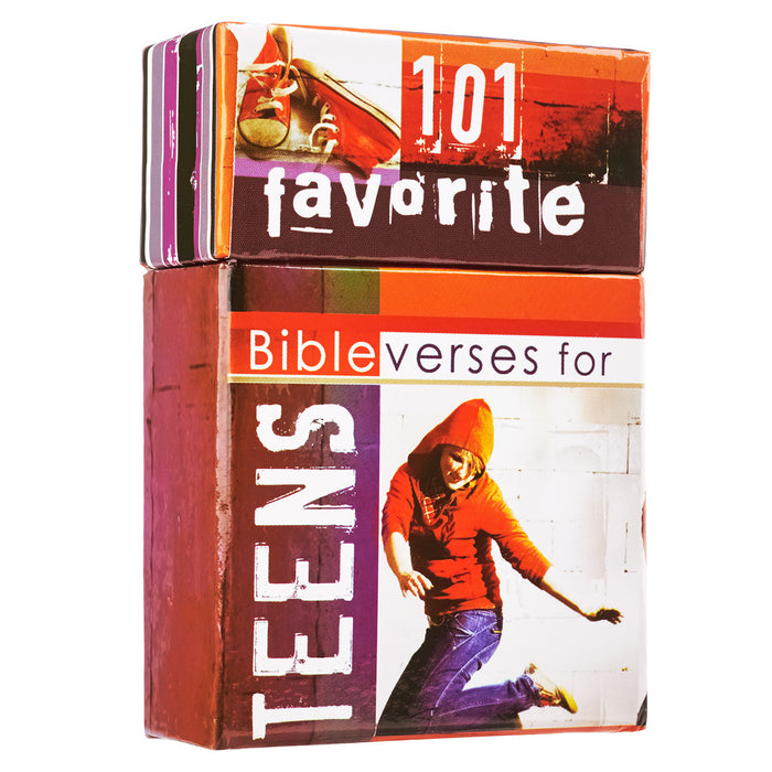 Box of Blessings: 101 Favorite Bible Verses for Teens