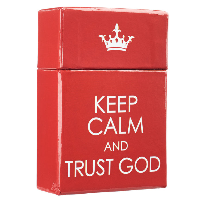 Box of Blessings: Keep Calm and Trust God