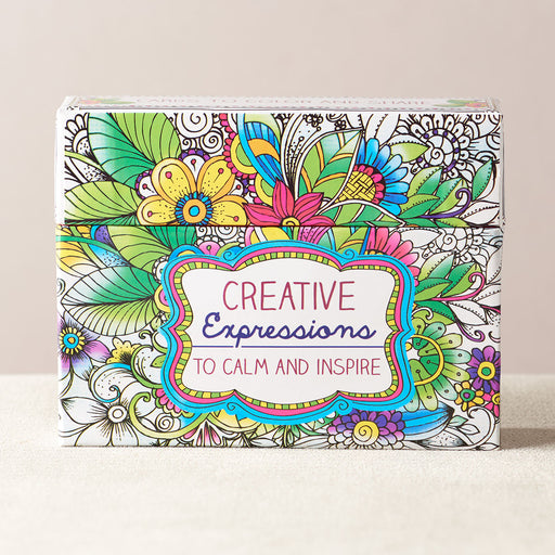 Creative Expressions Boxed Coloring Cards