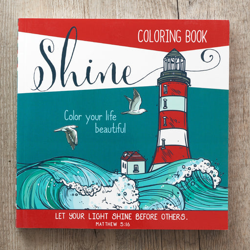 Shine Coloring Book