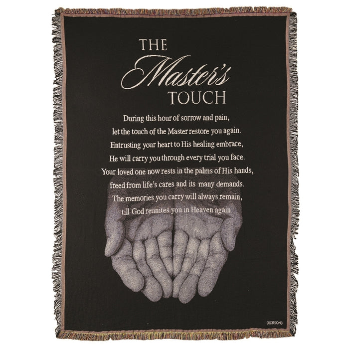 The Master's Touch Throw Blanket