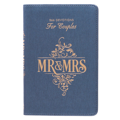 Mr & Mrs: 366 Devotions for Couples in LuxLeather